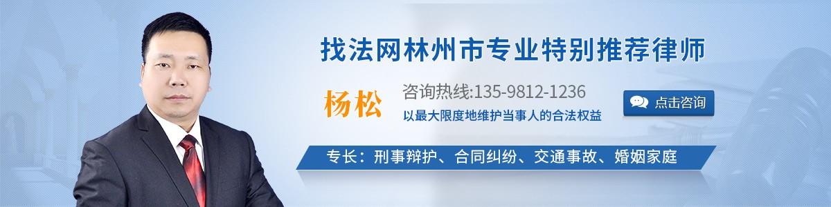 林州市杨松律师