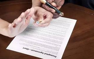 婚前协议书范本