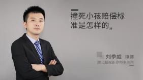 撞死小孩赔偿标准是怎样的-刘季威律师