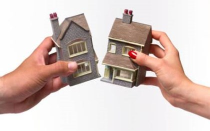 离婚房产分割协议书范本2018